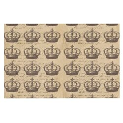 Crowns by Suzanne Carter Decorative Doormat