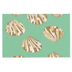 Scallop Shells by Rosie Brown Decorative Doormat