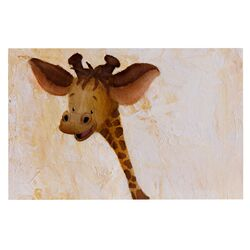 Georgey The Giraffe by Rachel Kokko Decorative Doormat