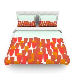 Sunrise Poppies by Pellerina Design Light Cotton Duvet Cover