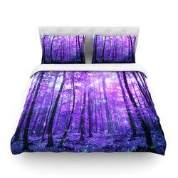 Magic Woods by Iris Lehnhardt Light Cotton Duvet Cover