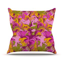 Marbleized by Anneline Sophia Throw Pillow