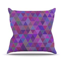 Abstract by Louise Throw Pillow