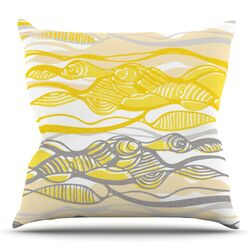 Kalahari by Gill Eggleston Throw Pillow