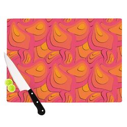 Fly Away Sadness by Akwaflorell Cutting Board