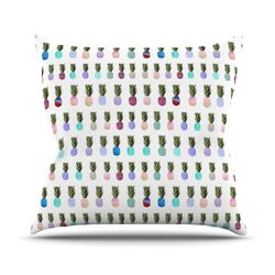Pineapple People Throw Pillow