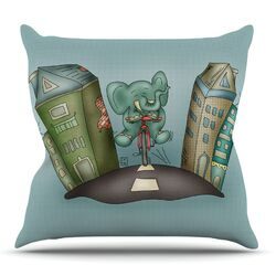 Life is Good by Carina Povarchik Throw Pillow