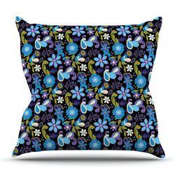 Florals by Carolyn Greifeld Throw Pillow