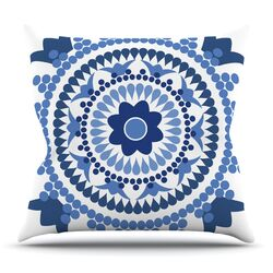 Bohemian Blues by Carolyn Greifeld Throw Pillow