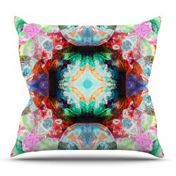 Achat II by Danii Pollehn Throw Pillow