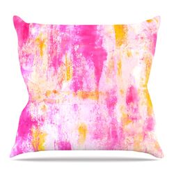 Fancy by CarolLynn Tice Throw Pillow