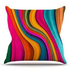 Lov Color by Danny Ivan Throw Pillow