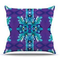 Orchids by Dawid Roc Throw Pillow