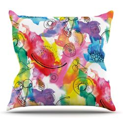 Fruits by Danii Pollehn Throw Pillow