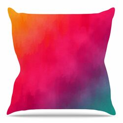 Rainbow Loon by Fotios Pavlopoulos Throw Pillow