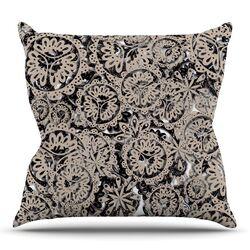Snowflakes by Akwaflorell Throw Pillow