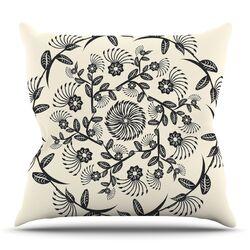 Decorative Mandala by Famenxt Throw Pillow