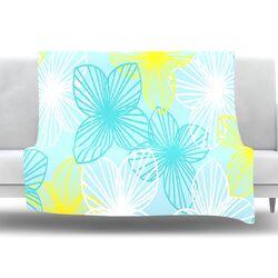 Sunshine by Emine Ortega Fleece Throw Blanket