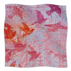 Bird's Dream Fleece Throw Blanket