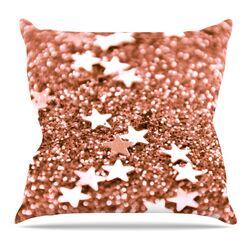 Copper Glaze Throw Pillow