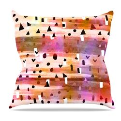 Geo Party Throw Pillow