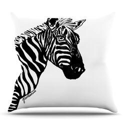 My Zebra Head Throw Pillow