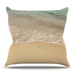 Waves Roll In Throw Pillow