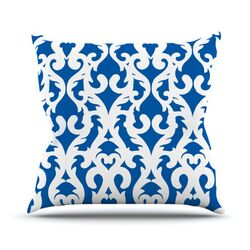 Modern Baroque by Aimee St. Hill Throw Pillow