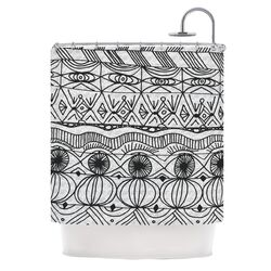 Blanket of Confusion Polyester Shower Curtain