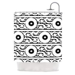 Samarkand Polyester Shower Curtain