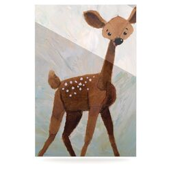 Oh Deer by Rachel Kokko Graphic Art Plaque