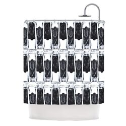 Paint Tubes Polyester Shower Curtain