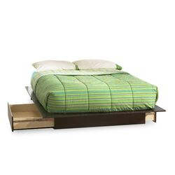 Back Bay Queen Storage Platform Bed