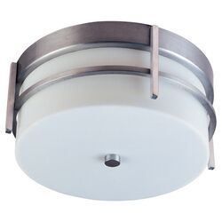 Luna Flush Mount in Brushed Metal - Energy Star