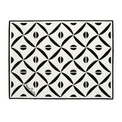 Verner Panton VP III Black/White Area Rug