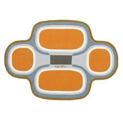 Karim Rashid KR TS OB Orange/Blue Area Rug