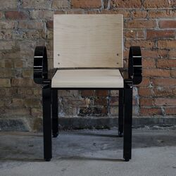 Bridge Arm Dining Chair