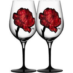 Tattoo Wine Glass
