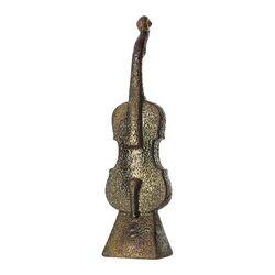 Band Violin Sculpture