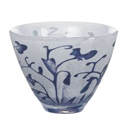 Floating Blue Flower Bowl