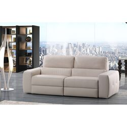 Luxury Aston Leather Reclining Sofa