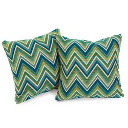 Fischer Lagoon Green Sunbrella Pillow