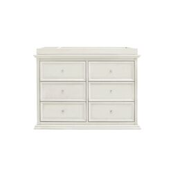 Louis Foothill 6 Drawer Changer Dresser