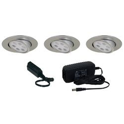 Slim Disk 3 Light Adjustable Round Kit