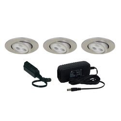 Slim Disk Adjustable Round Kit
