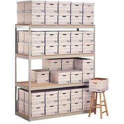Record Storage 3 Shelf Shelving Unit Add-On