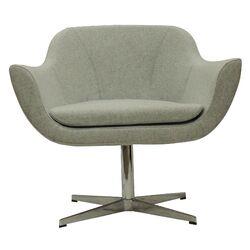 Green Camira Wool Lounge Chair