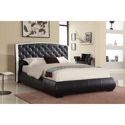 Maggie King Upholstered Plalform Bed