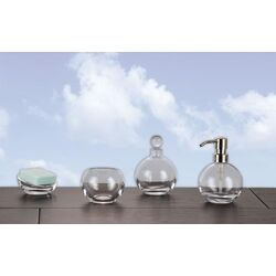 Nicol Apollo 4 Piece Bathroom Accessory Set