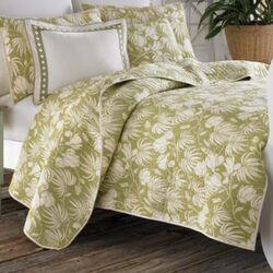 Plantation Floral Cotton Quilt Set